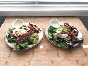 Guacamole Bacon Chicken Salad