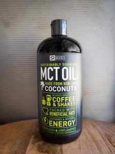Sports Research MCT Oil Made from non gmo coonuts for keto